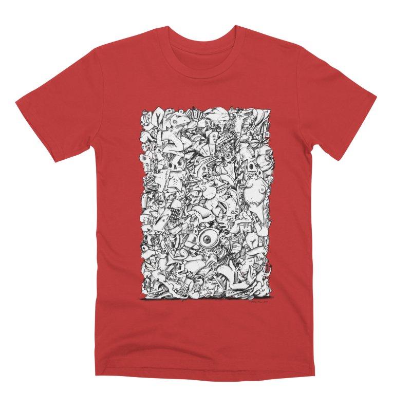 FRTZN Block Men's T-Shirt by Peer Kriesel's Artist Shop