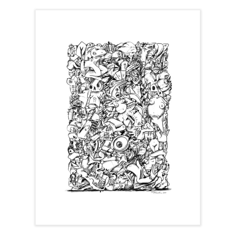 FRTZN Block Home Fine Art Print by Peer Kriesel's Artist Shop