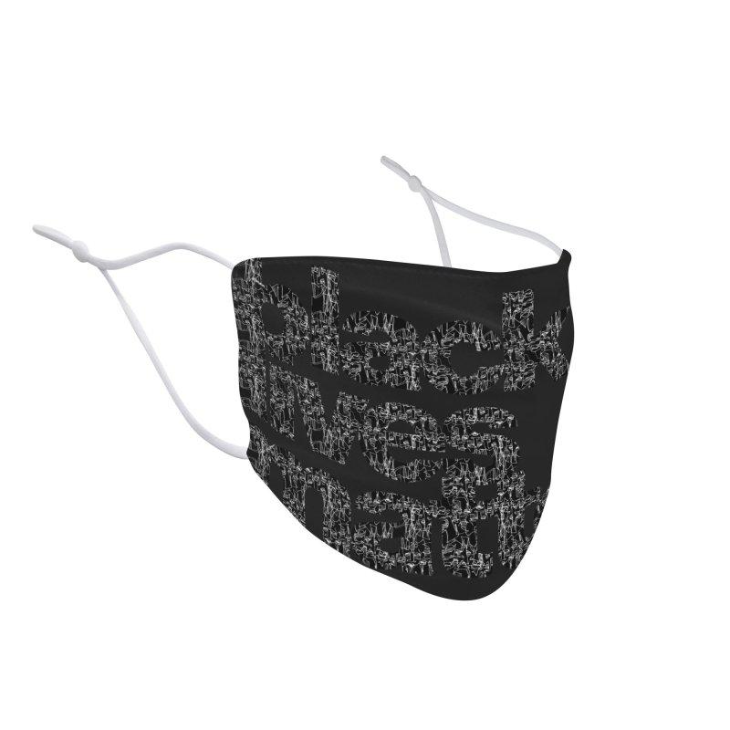 BLACK LIVES MATTER (FRTZN) Accessories Face Mask by Peer Kriesel's Artist Shop