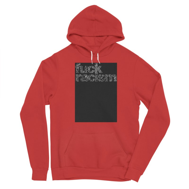 FUCK RACISM (FRTZN Block) Men's Pullover Hoody by Peer Kriesel's Artist Shop