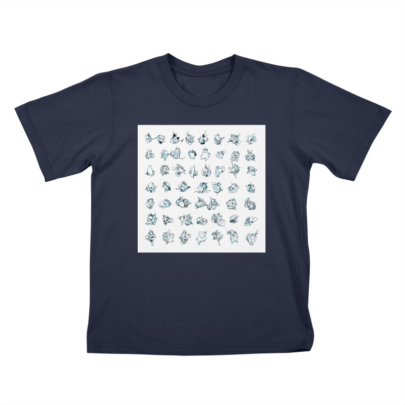 Essences Extracts I Kids T-Shirt by Peer Kriesel's Artist Shop