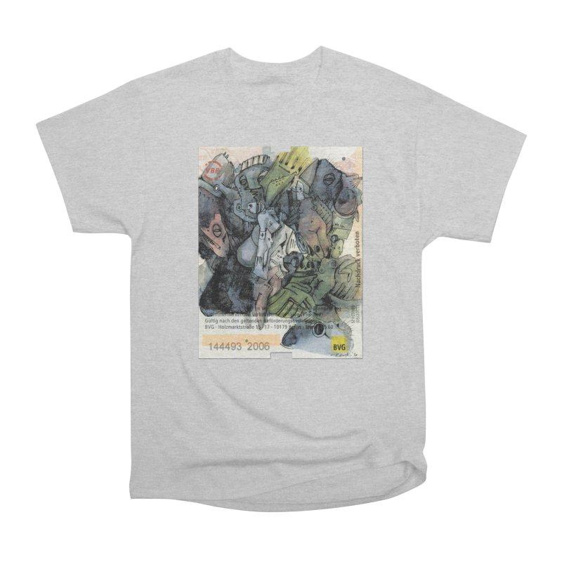 Fahrkarte Berlin 2006 Men's T-Shirt by Peer Kriesel's Artist Shop