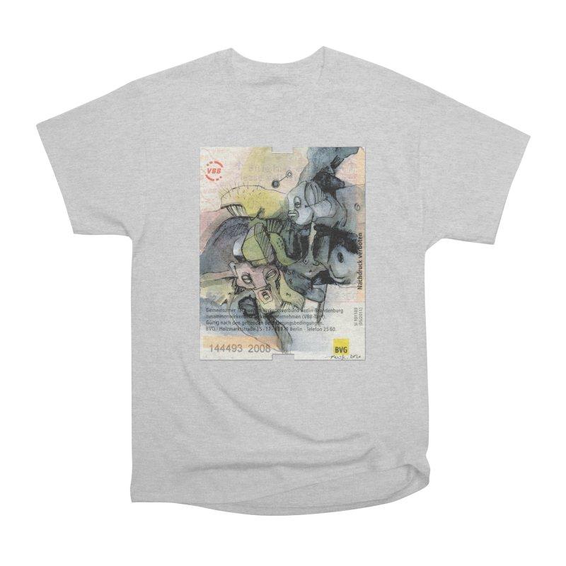 Fahrkarte Berlin 2008 Men's T-Shirt by Peer Kriesel's Artist Shop