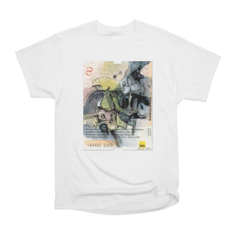 Fahrkarte Berlin 2008 Women's T-Shirt by Peer Kriesel's Artist Shop