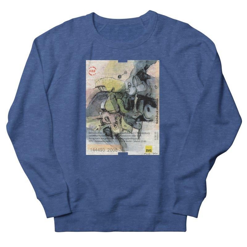 Fahrkarte Berlin 2008 Men's Sweatshirt by Peer Kriesel's Artist Shop