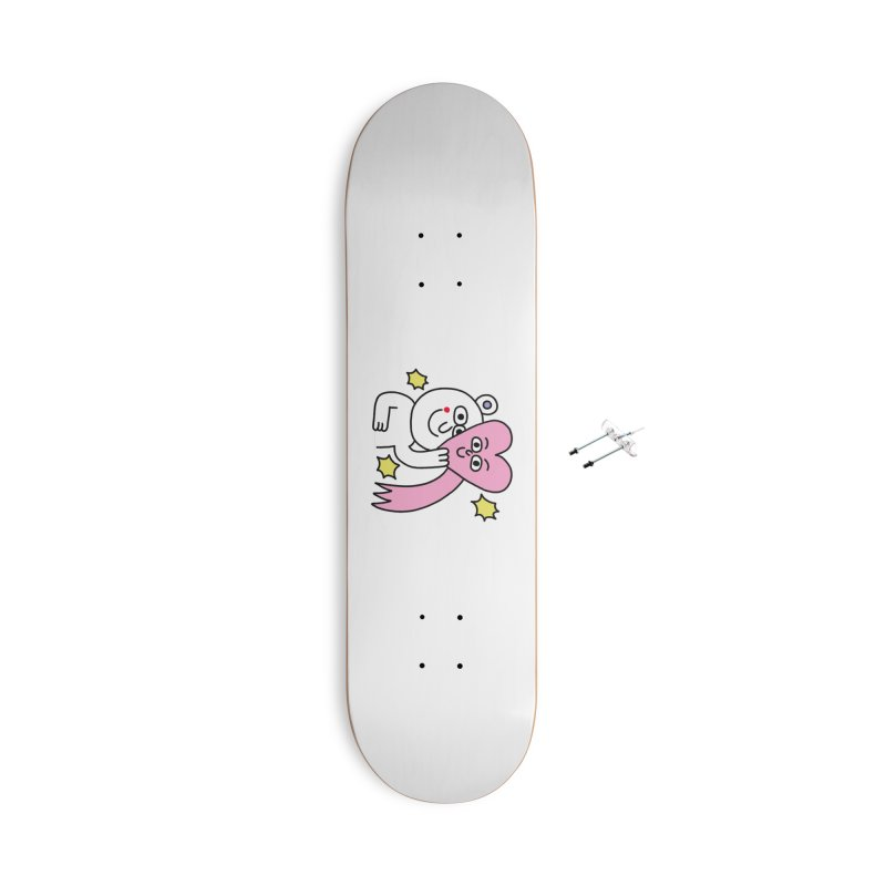 amoxo Accessories With Hanging Hardware Skateboard by PEIPER's Artist Shop