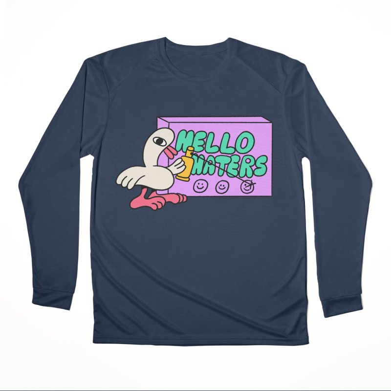 Hello haters Men's Performance Longsleeve T-Shirt by PEIPER's Artist Shop