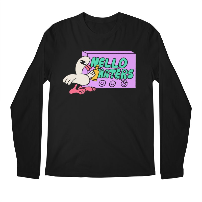 Hello haters Men's Regular Longsleeve T-Shirt by PEIPER's Artist Shop