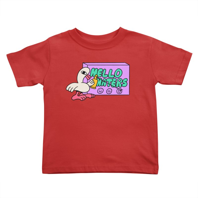 Hello haters Kids Toddler T-Shirt by PEIPER's Artist Shop