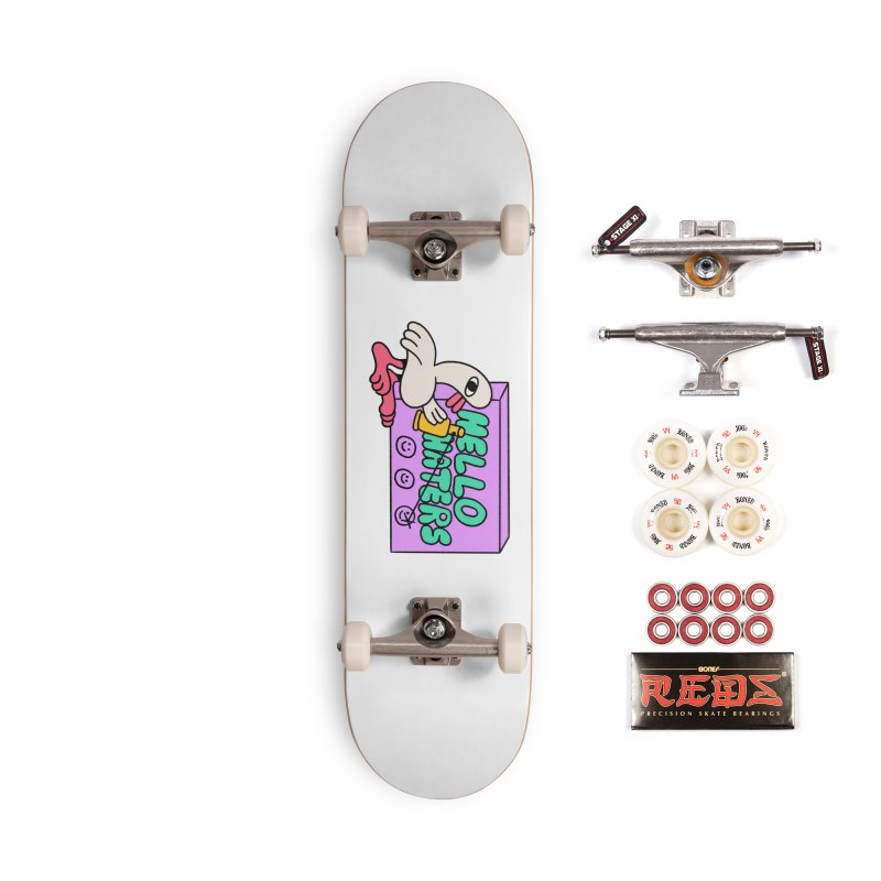 Hello haters Accessories Complete - Pro Skateboard by PEIPER's Artist Shop