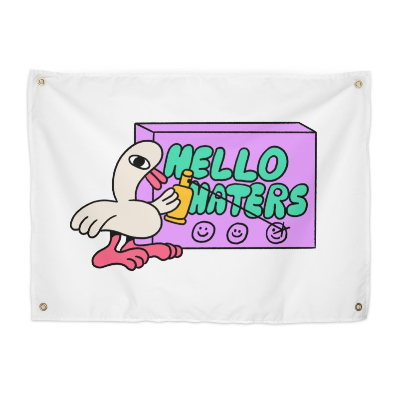 Hello haters Home Tapestry by PEIPER's Artist Shop