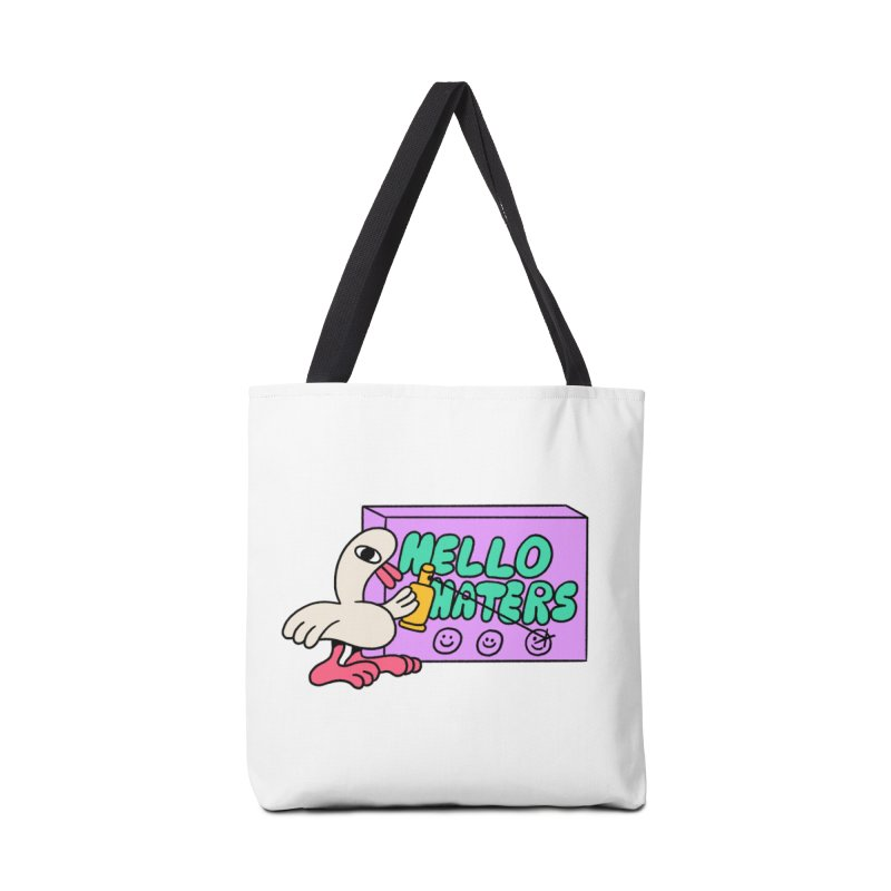 Hello haters Accessories Tote Bag Bag by PEIPER's Artist Shop