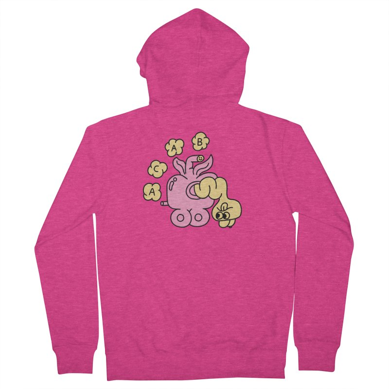 Acab Women's French Terry Zip-Up Hoody by PEIPER's Artist Shop