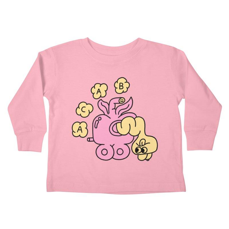 Acab Kids Toddler Longsleeve T-Shirt by PEIPER's Artist Shop