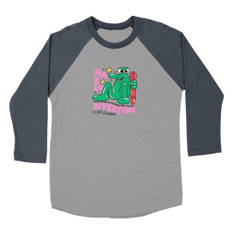 Hazlo divertido o no lo hagas Women's Baseball Triblend Longsleeve T-Shirt by PEIPER's Artist Shop