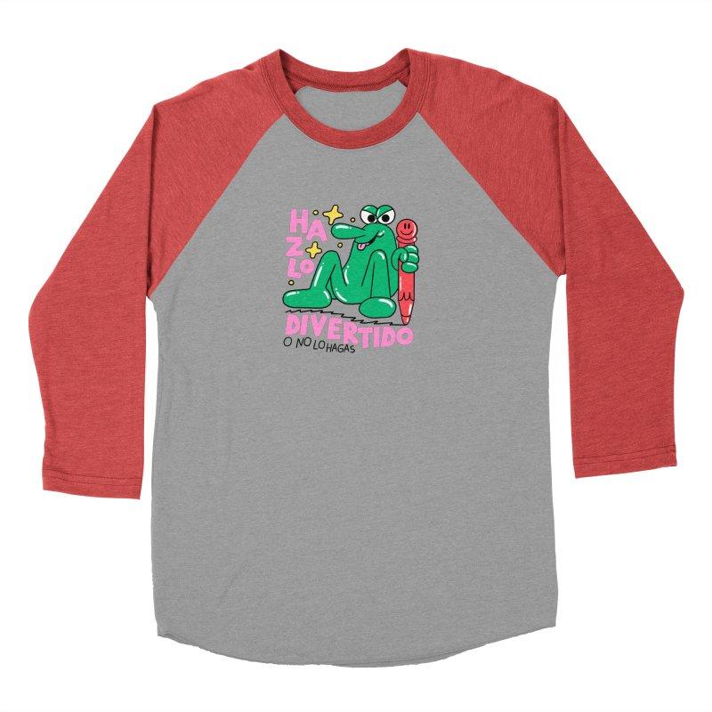 Hazlo divertido o no lo hagas Men's Baseball Triblend Longsleeve T-Shirt by PEIPER's Artist Shop