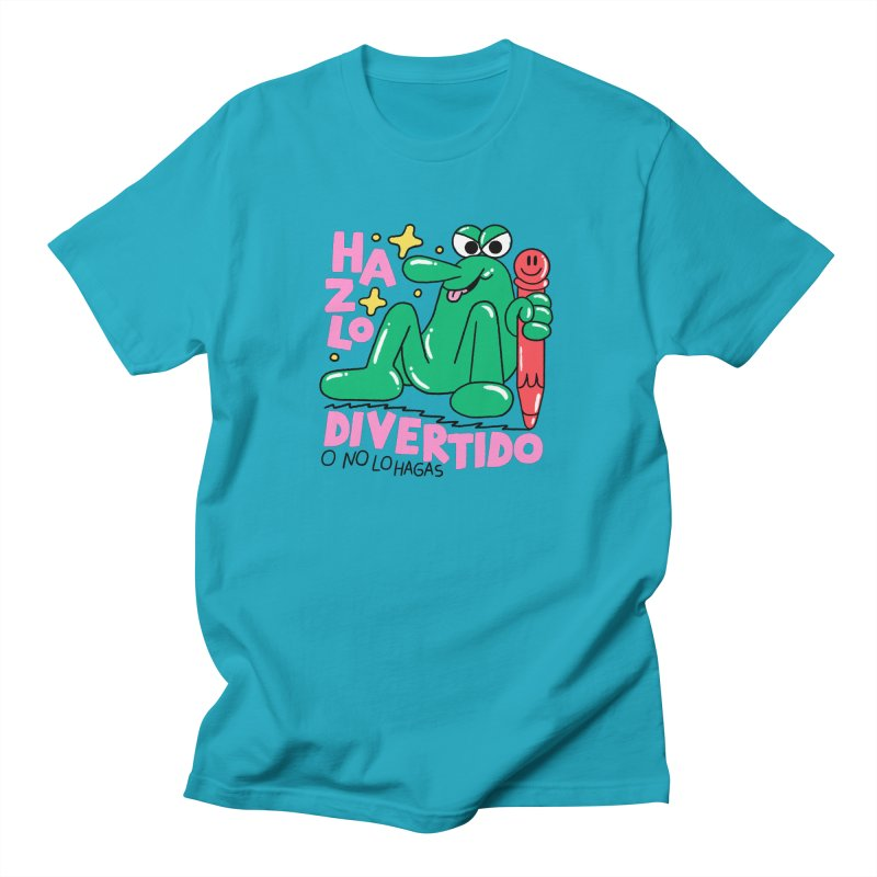 Hazlo divertido o no lo hagas Men's Regular T-Shirt by PEIPER's Artist Shop