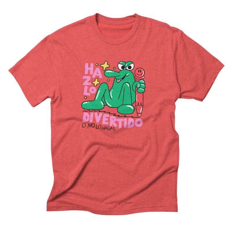Hazlo divertido o no lo hagas Men's Triblend T-Shirt by PEIPER's Artist Shop