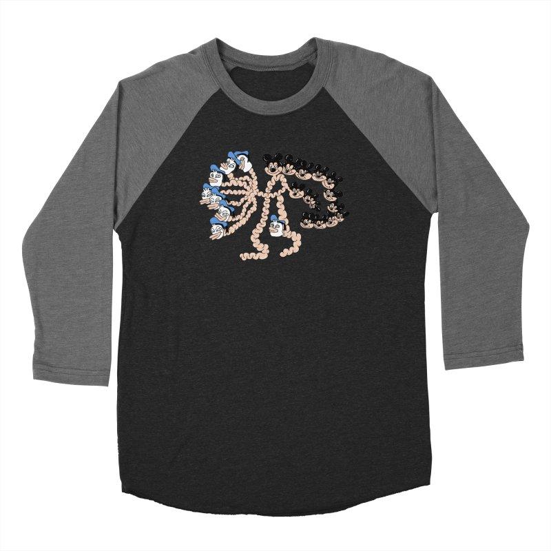 Donickey Women's Baseball Triblend Longsleeve T-Shirt by PEIPER's Artist Shop