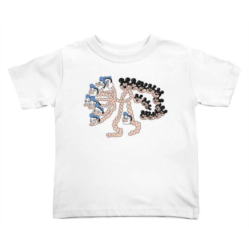 Donickey Kids Toddler T-Shirt by PEIPER's Artist Shop