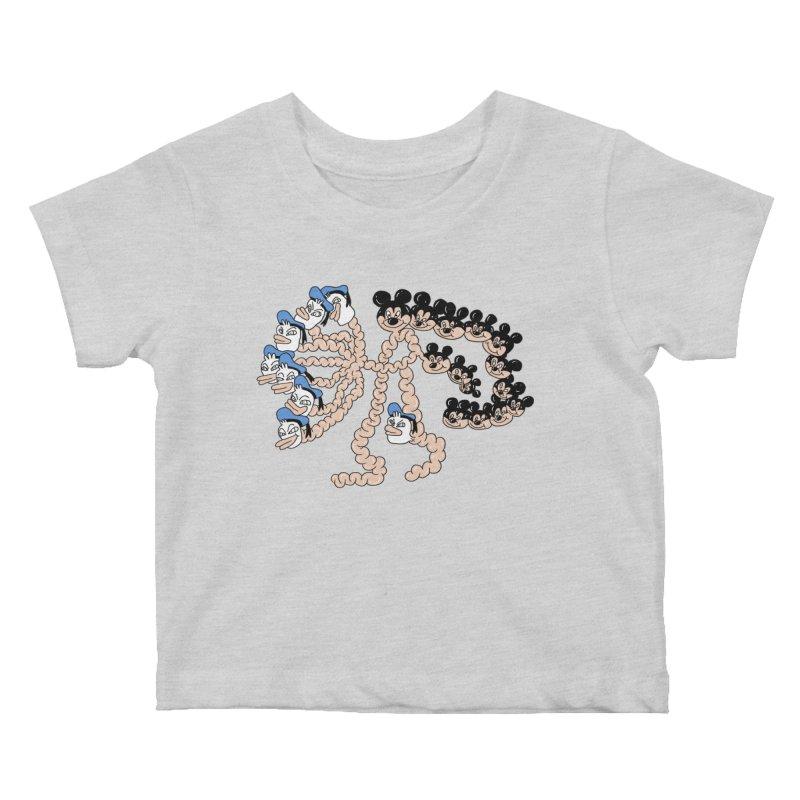 Donickey Kids Baby T-Shirt by PEIPER's Artist Shop
