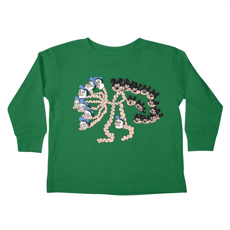 Donickey Kids Toddler Longsleeve T-Shirt by PEIPER's Artist Shop