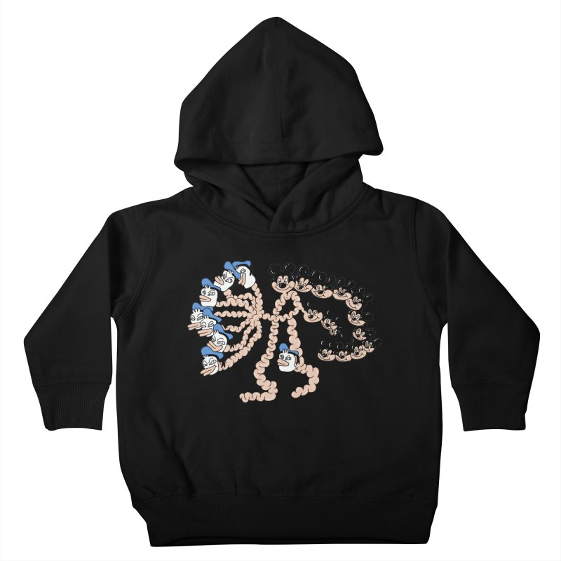 Donickey Kids Toddler Pullover Hoody by PEIPER's Artist Shop