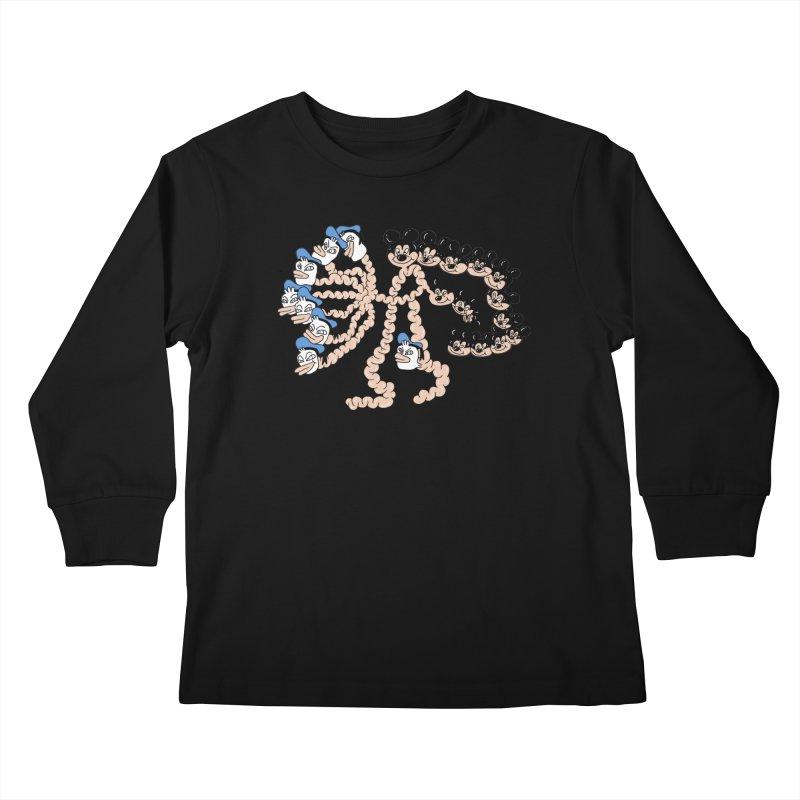 Donickey Kids Longsleeve T-Shirt by PEIPER's Artist Shop
