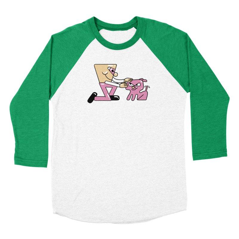 caricia Women's Baseball Triblend Longsleeve T-Shirt by PEIPER's Artist Shop