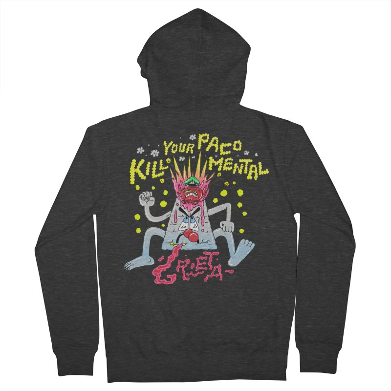 kill your mental police Women's French Terry Zip-Up Hoody by PEIPER's Artist Shop
