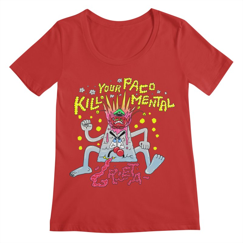 kill your mental police Women's Regular Scoop Neck by PEIPER's Artist Shop