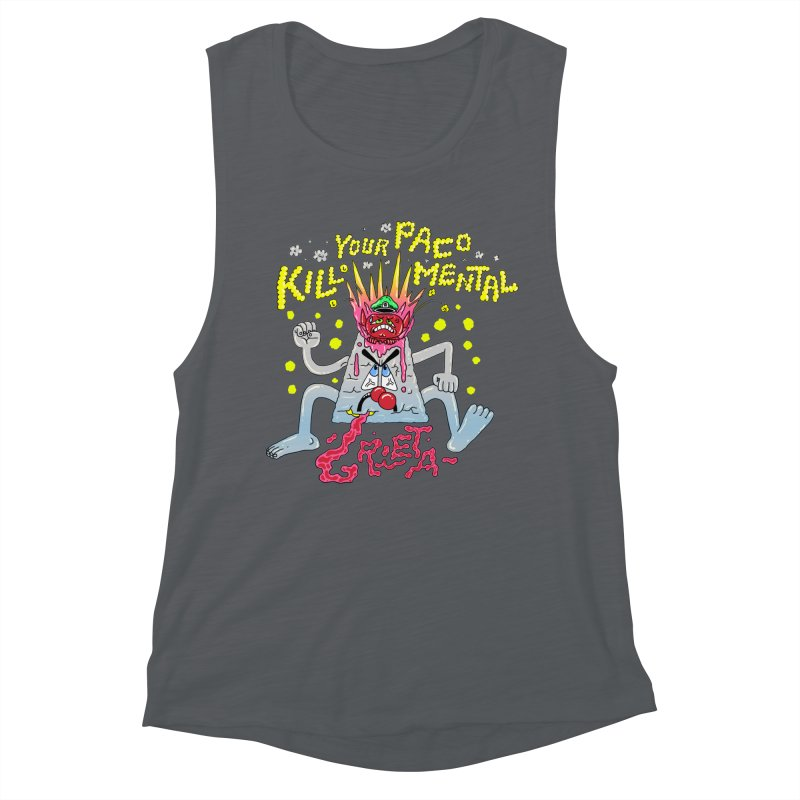 kill your mental police Women's Muscle Tank by PEIPER's Artist Shop