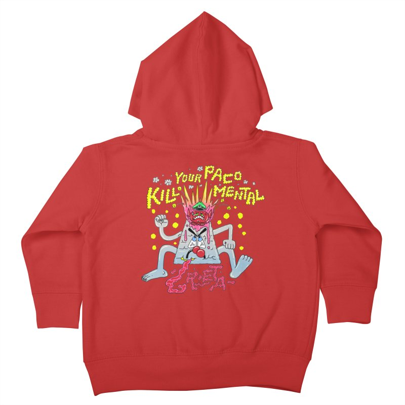 kill your mental police Kids Toddler Zip-Up Hoody by PEIPER's Artist Shop