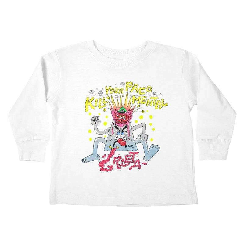kill your mental police Kids Toddler Longsleeve T-Shirt by PEIPER's Artist Shop