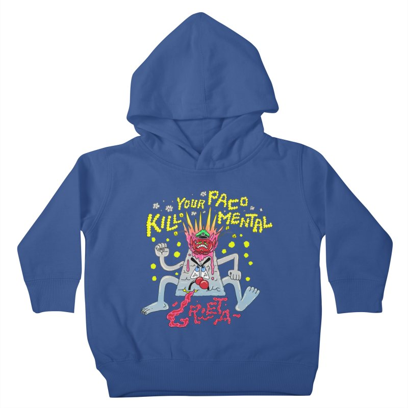 kill your mental police Kids Toddler Pullover Hoody by PEIPER's Artist Shop