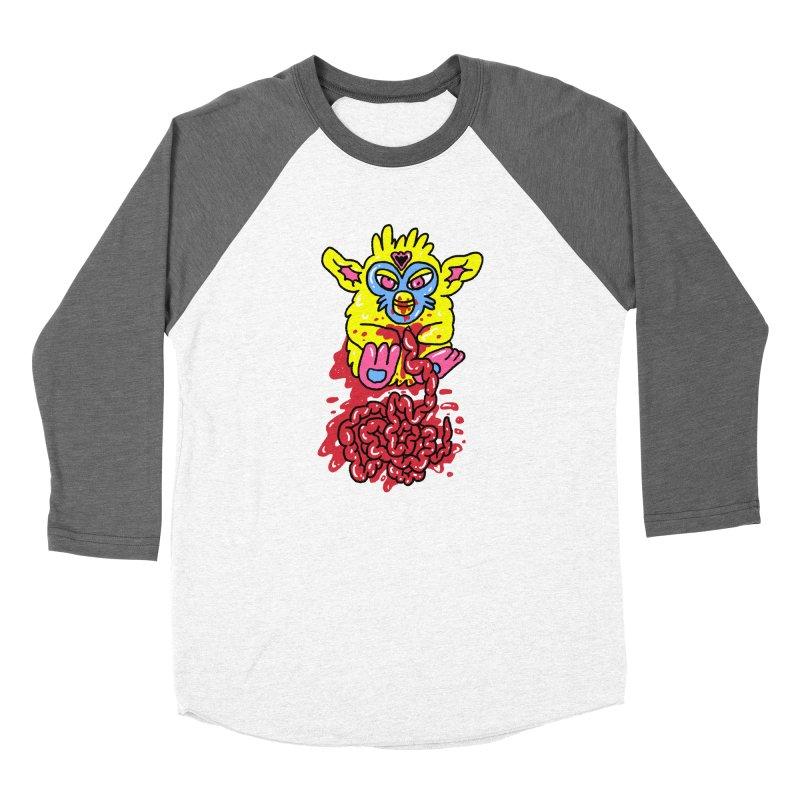 poor furby Men's Baseball Triblend Longsleeve T-Shirt by PEIPER's Artist Shop
