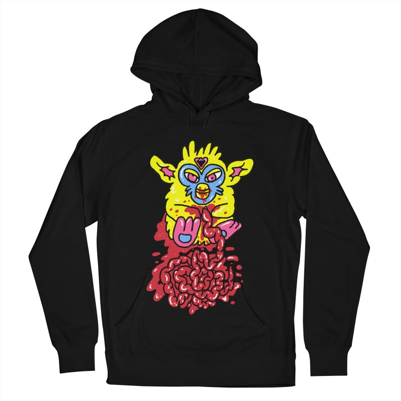 poor furby Men's French Terry Pullover Hoody by PEIPER's Artist Shop