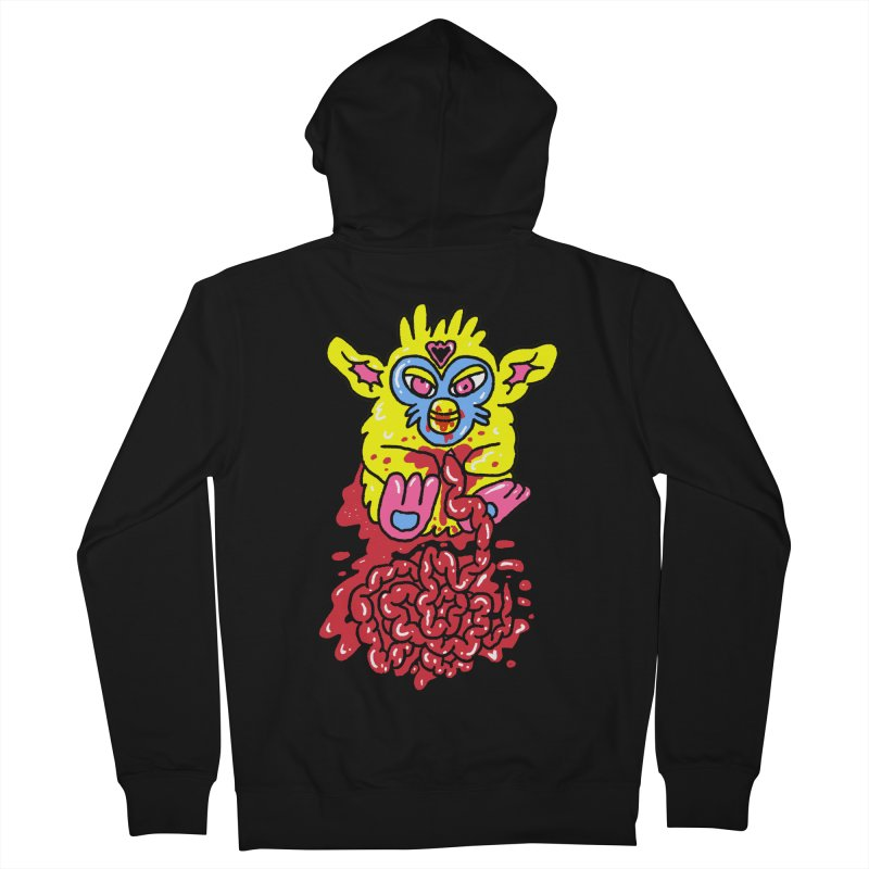 poor furby Women's French Terry Zip-Up Hoody by PEIPER's Artist Shop