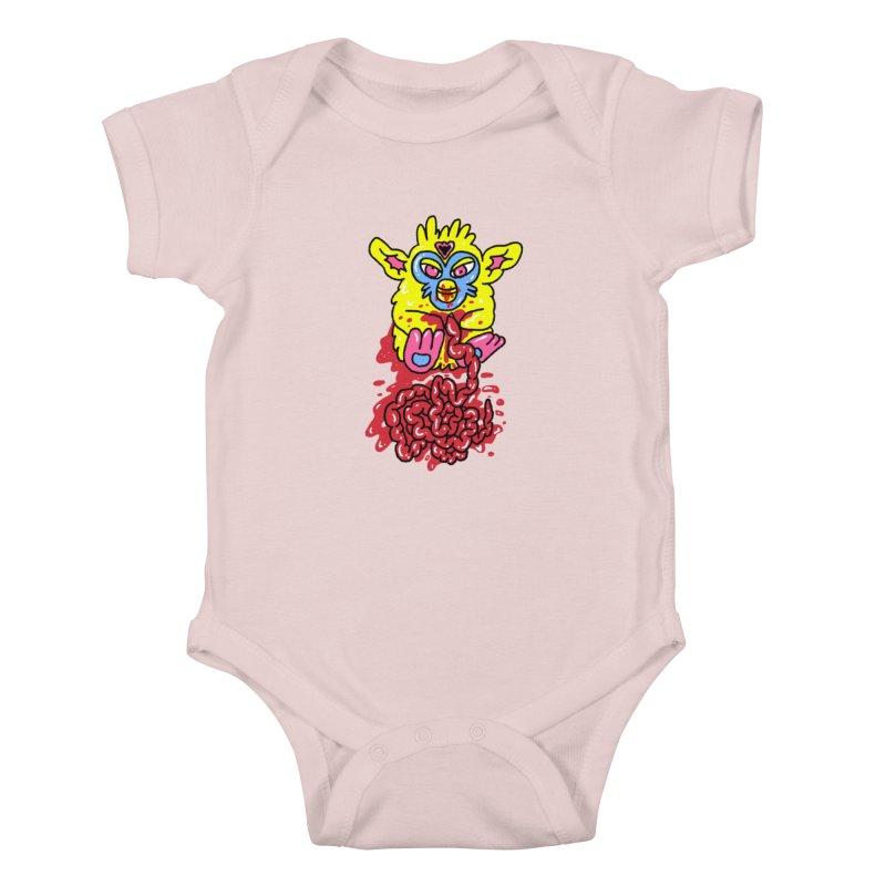 poor furby Kids Baby Bodysuit by PEIPER's Artist Shop