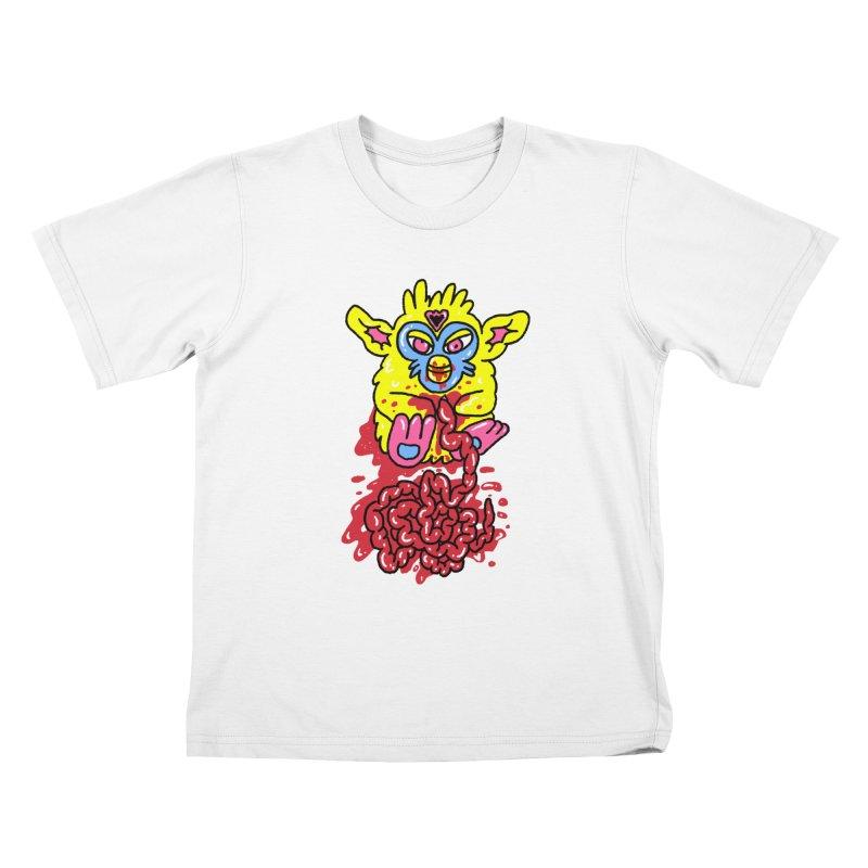 poor furby Kids T-Shirt by PEIPER's Artist Shop