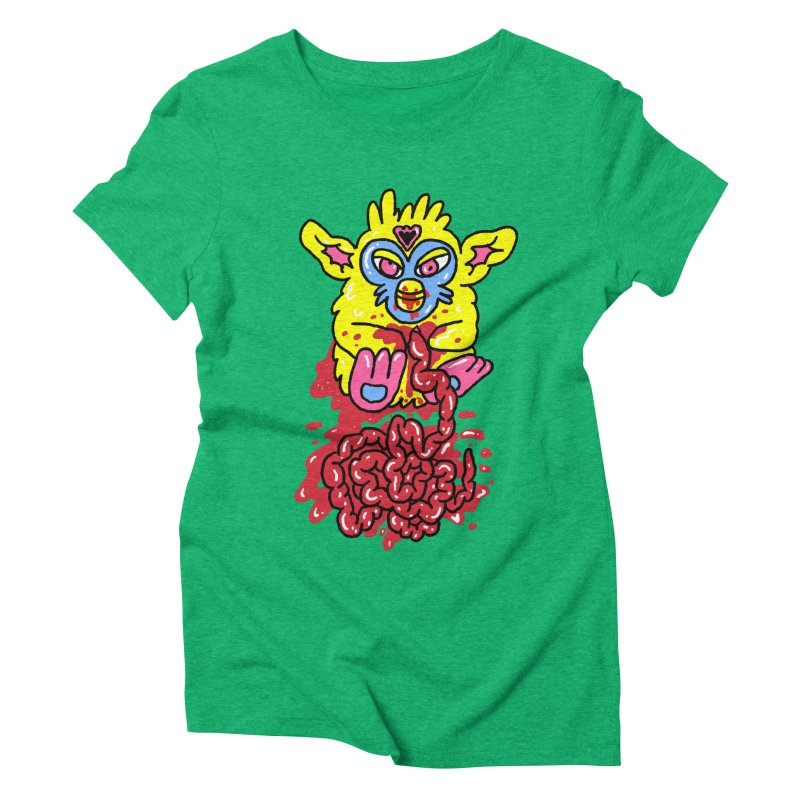 poor furby Women's Triblend T-Shirt by PEIPER's Artist Shop
