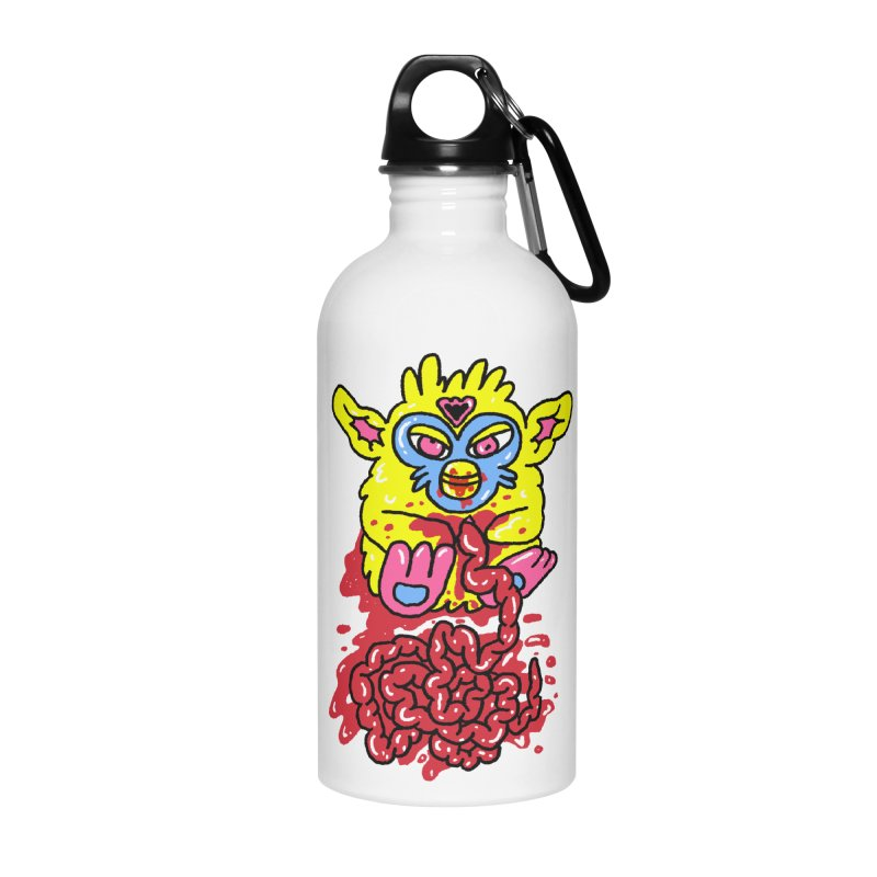 poor furby Accessories Water Bottle by PEIPER's Artist Shop