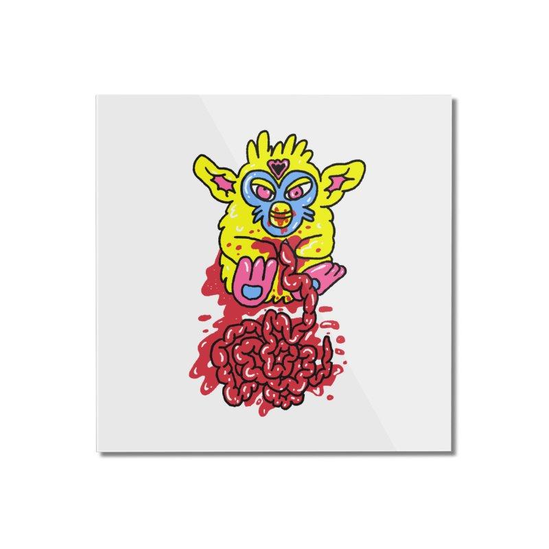 poor furby Home Mounted Acrylic Print by PEIPER's Artist Shop