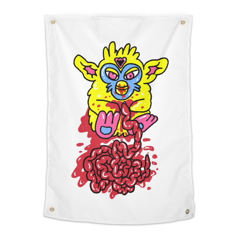 poor furby Home Tapestry by PEIPER's Artist Shop