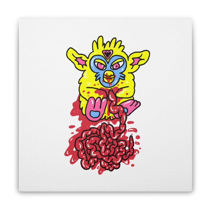 poor furby Home Stretched Canvas by PEIPER's Artist Shop