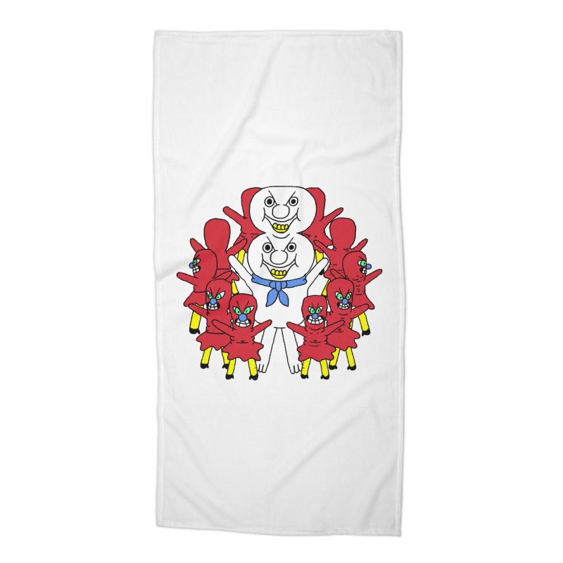 muntant girl gang Accessories Beach Towel by PEIPER's Artist Shop