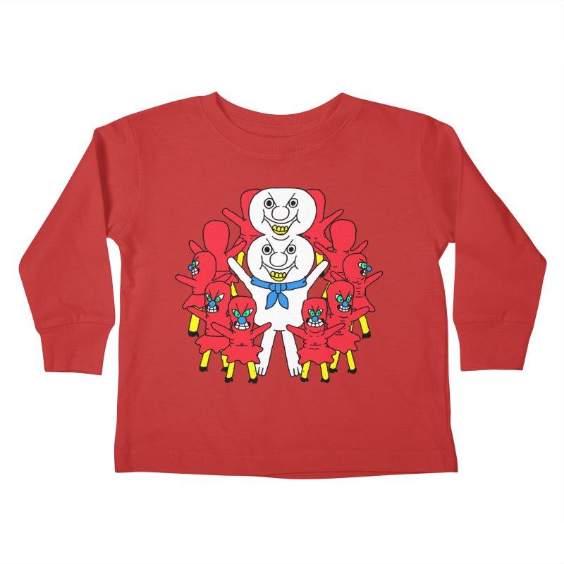 muntant girl gang Kids Toddler Longsleeve T-Shirt by PEIPER's Artist Shop