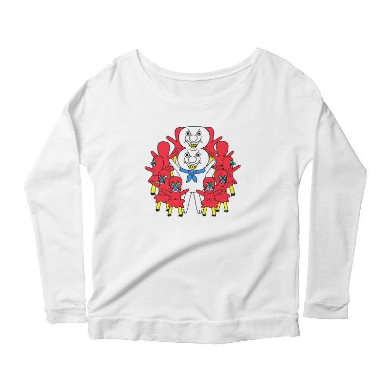 muntant girl gang Women's Scoop Neck Longsleeve T-Shirt by PEIPER's Artist Shop