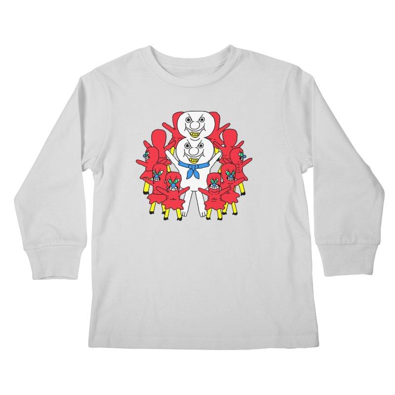 muntant girl gang Kids Longsleeve T-Shirt by PEIPER's Artist Shop