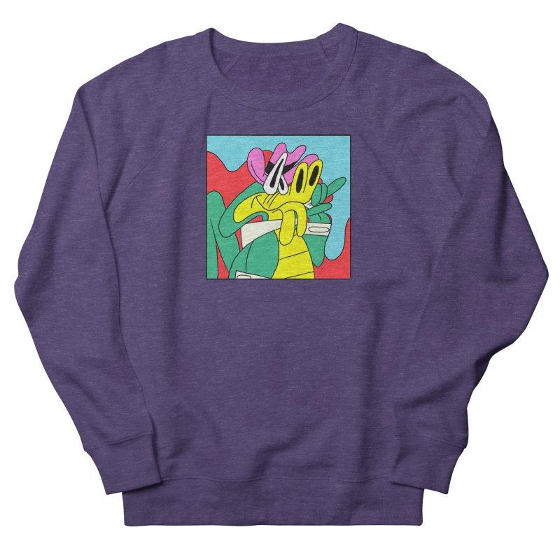 lagarto juancho Men's French Terry Sweatshirt by PEIPER's Artist Shop